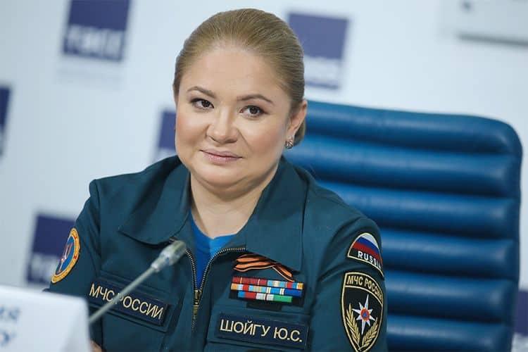 Рис. 5. Дочь Сергея Шойгу