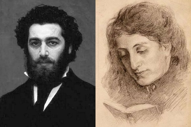 Рис. 4. Портреты Архипа Куинджи и его жены Веры