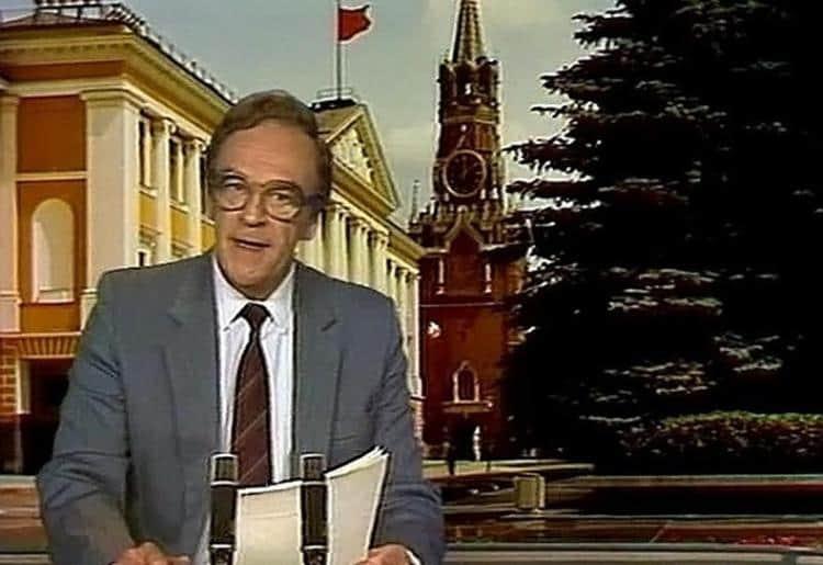 Рис. 4. Кириллов — бессменный ведущий программы «Время»