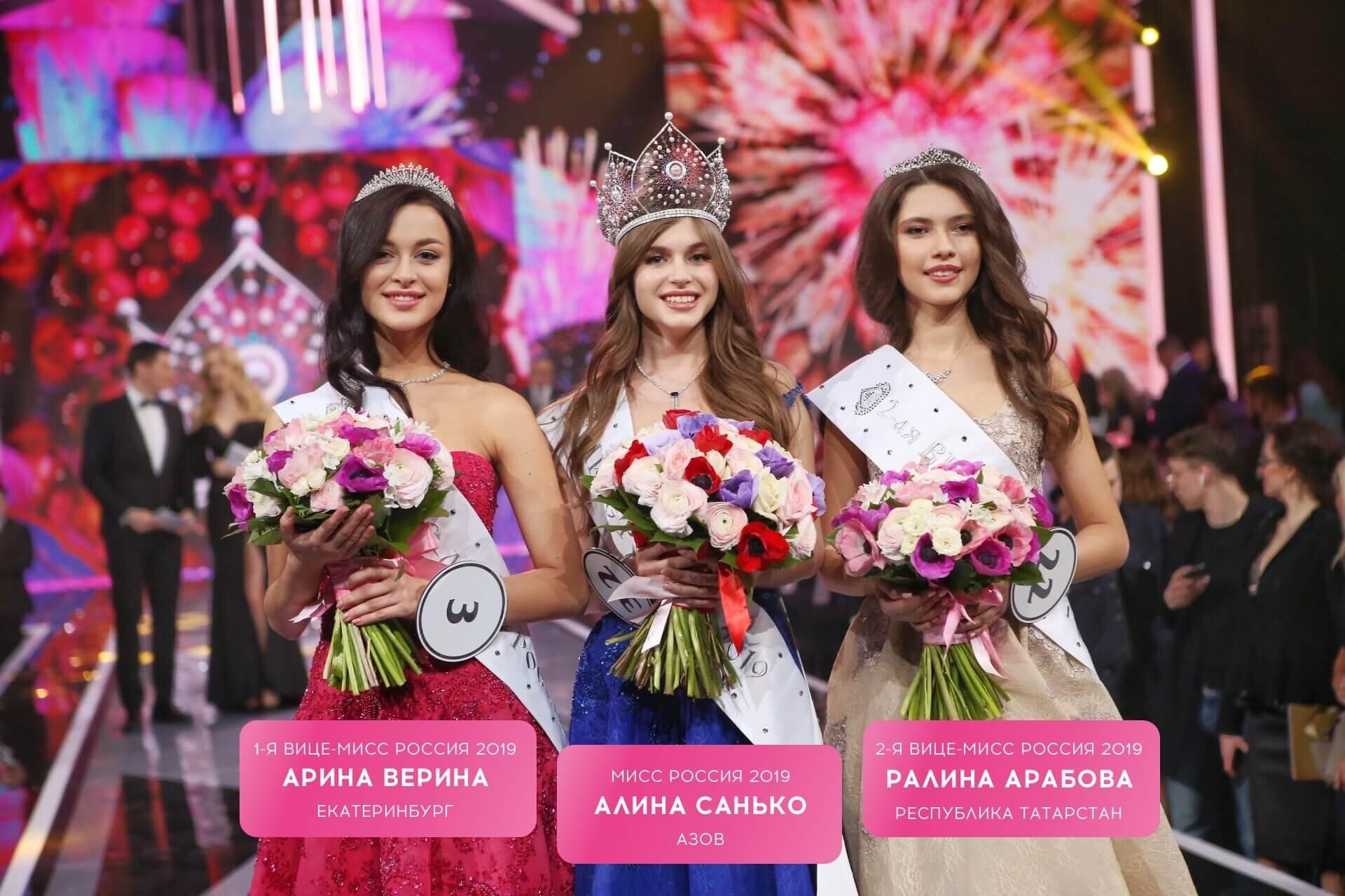Рис. 4. Финал конкурса «Мисс Россия-2019»