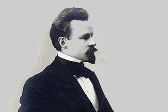 Рис. 4. Константин Бальмонт в начале карьеры