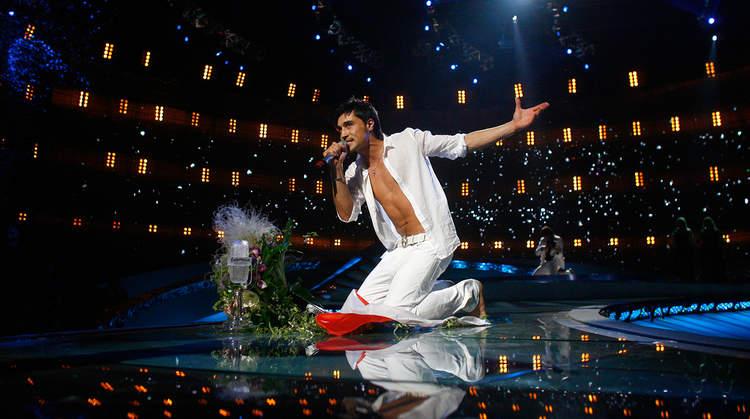 Рис. 1. Билан на Евровидении-2008